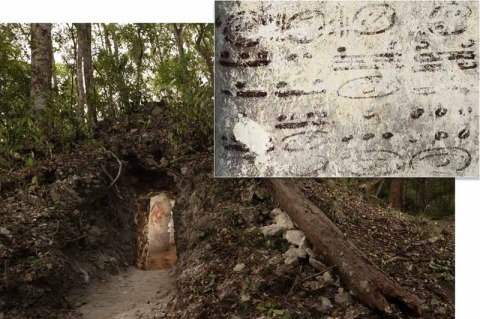 Astrology calendars & entrance to recent  Mayan discovery!