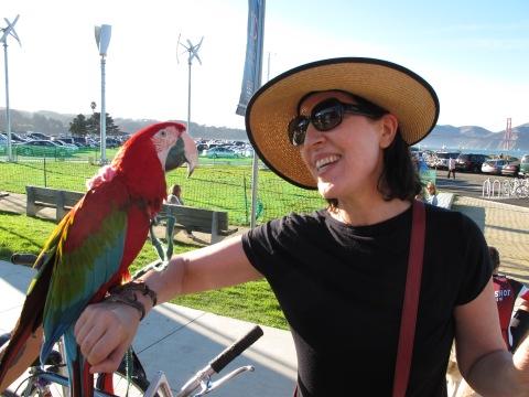 Rudy & me at Chrissy Field, San Francisco, Nov. 2012.