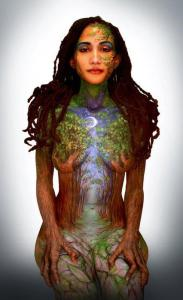 earth woman